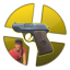 Gold Scout Pistol