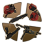 Bronze Mini Sentry Guns Destroyed