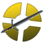 Gold Three-Rune Blade